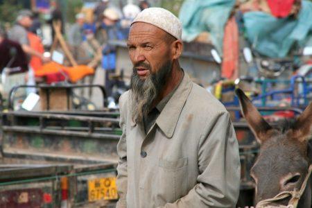 Niedzielny targ w Kaszgarze
