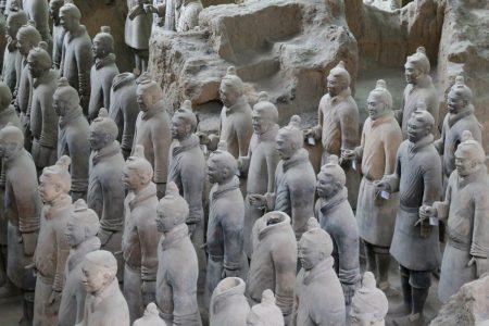 Terakotowa Armia Cesarza Qin Shi