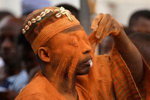 Akwaside. Wielka ceremonia Aszantów w Kumasi