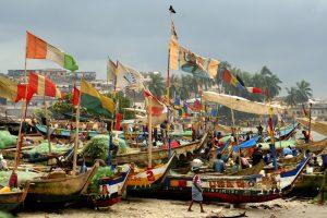 Elmina & Cape Coast. Forty na wybrzeżu