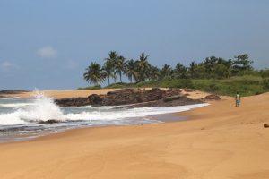 Ghańskie plaże