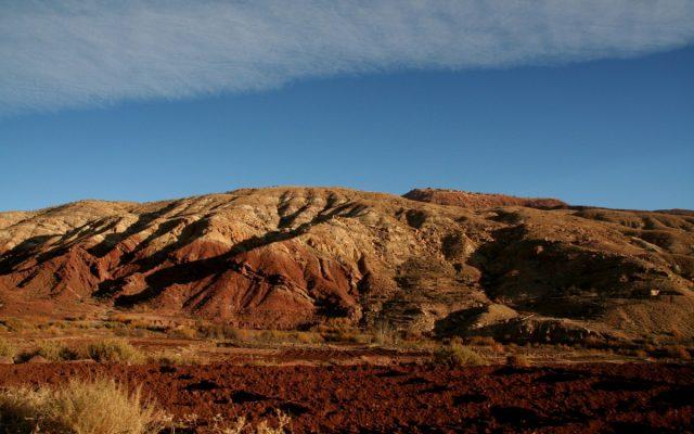 W drodze przez góry Atlas